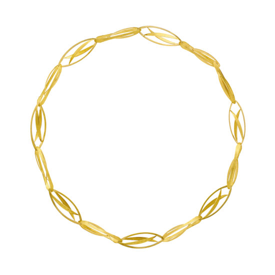 18 carat yellow gold necklace