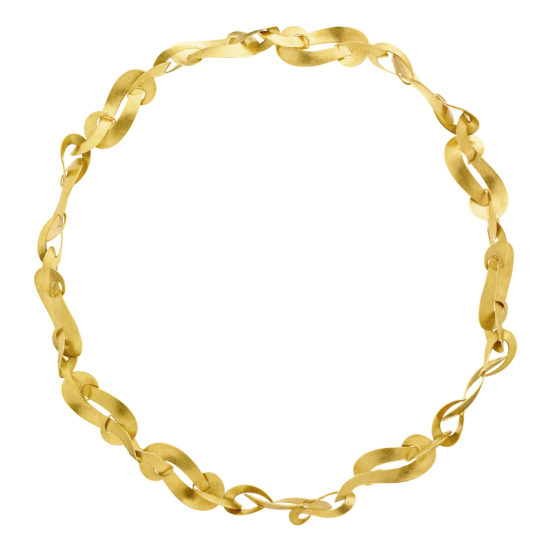golden necklace with subtle clasp